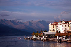 jezioro como bellagio Włoch Zdjęcia Royalty Free