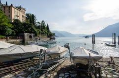 Jezioro Como, Włochy Zdjęcia Stock