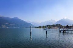 jezioro como Włochy Obraz Stock