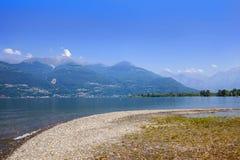 jezioro como Włochy Zdjęcie Stock
