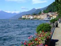 jezioro como Włochy Zdjęcia Royalty Free