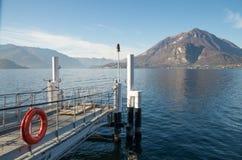 jezioro como Włochy Zdjęcie Royalty Free