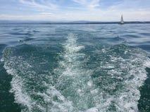Jezioro Constance przy letnim dniem Fotografia Stock