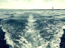 Jezioro Constance przy letnim dniem Zdjęcie Royalty Free