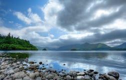 jezioro derwent gromadzka angielska woda Zdjęcia Royalty Free