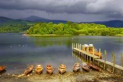 jezioro derwent woda zdjęcia stock