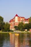 jezioro do domu Zdjęcie Royalty Free