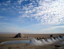 Jezioro el Jerid Fotografia Stock