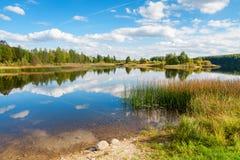 Jezioro Estonia fotografia stock