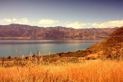 jezioro hawea nowe Zelandii Zdjęcie Stock