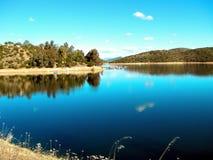 Jezioro i drzewa Zdjęcie Stock