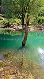 Jezioro i góra w Europa zdjęcia stock