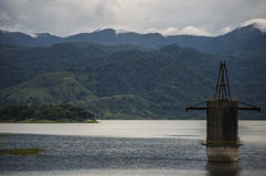 Jezioro i montains Zdjęcia Stock