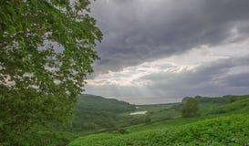 Jezioro i morze Zdjęcia Royalty Free