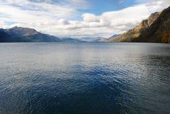 Jezioro i moutain fotografia royalty free