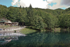 Jezioro i odruch Obraz Stock