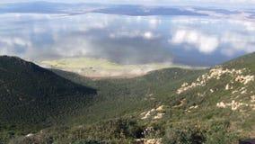 Jezioro Ichkeul, Bizerte, Tunezja Fotografia Stock
