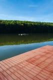 Jezioro krajobraz - Trzy Nawadniają jezioro Obraz Stock