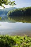 Jezioro krajobraz - Trzy Nawadniają jezioro Fotografia Stock