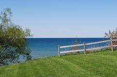 jezioro krajobrazowy Ontario Fotografia Royalty Free