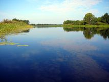 jezioro krajobrazu zdjęcia stock