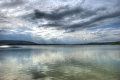 jezioro krajobrazu obrazy stock