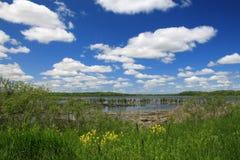 jezioro krajobrazu Fotografia Royalty Free