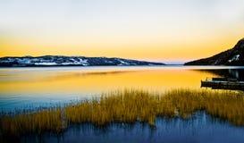 jezioro Laponii Obrazy Royalty Free