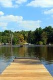 jezioro lato Zdjęcia Stock
