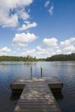 jezioro lato Fotografia Royalty Free
