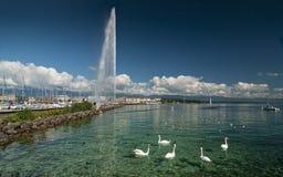jezioro lehman Fotografia Royalty Free