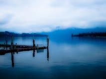 Jezioro lucerna zdjęcie royalty free