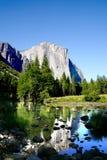 jezioro lustrze odbicie Fotografia Stock