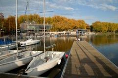 Jezioro MÃ ¼ nster, Niemcy Fotografia Royalty Free
