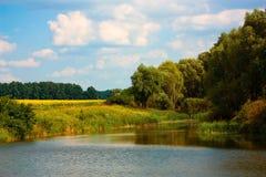 jezioro mały fotografia royalty free