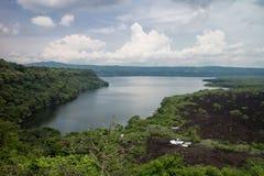 Jezioro Masaya od Nicaragua Obraz Royalty Free
