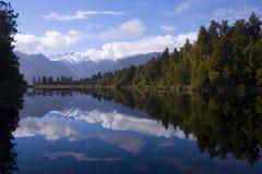 jezioro matheson Fotografia Royalty Free