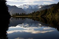 jezioro matheson Zdjęcia Royalty Free