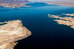 jezioro mead lotniczego widok Zdjęcie Royalty Free