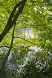 Jezioro miłość, Minnewater, Bruges, Belgia Zdjęcia Stock