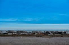 jezioro michigan Obraz Royalty Free