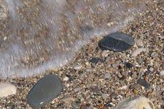 jezioro michigan brzegu Zdjęcia Royalty Free