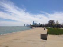 Jezioro Michigan Chicago Zdjęcie Stock
