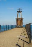 Jezioro Michigan latarnia morska Obraz Royalty Free