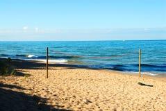 jezioro michigan na plaży Obrazy Stock