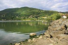 Jezioro Miedzybrodzkie, Zywiec, Polônia Imagem de Stock