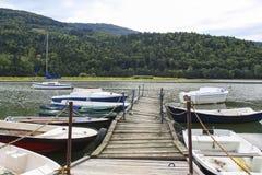 Jezioro Miedzybrodzkie, Zywiec, Polen Royaltyfri Bild