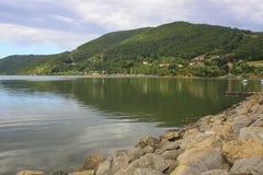 Jezioro Miedzybrodzkie, Zywiec, Polen Arkivfoto
