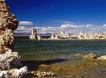 Jezioro Mono Zdjęcia Royalty Free