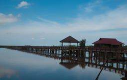 Jezioro most Obraz Royalty Free